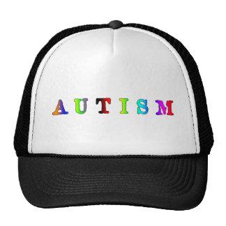 Autism Colorful Cap