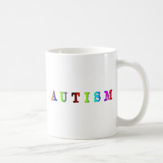 Autism Colorful Coffee Mugs