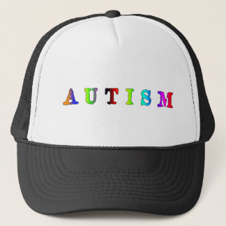 Autism Colorful Trucker Hat