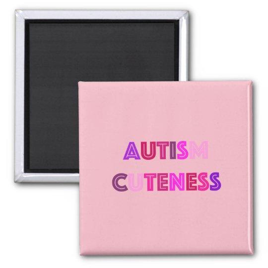 Autism Cuteness Magnet