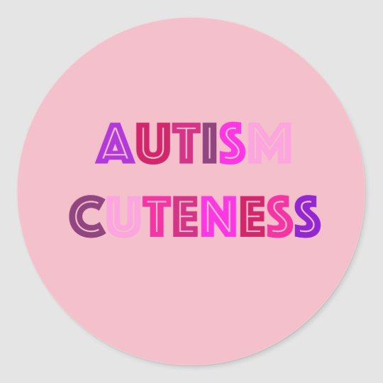 Autism Cuteness Stickers