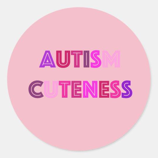 Autism Cuteness Stickers