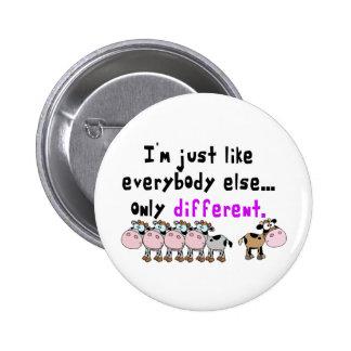 Autism Different 6 Cm Round Badge