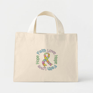 Autism Faith Love Hope Tote Bag