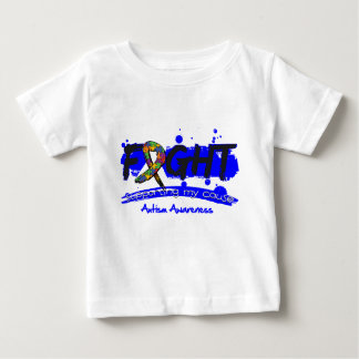 Autism FIGHT Supporting My Cause Tshirt