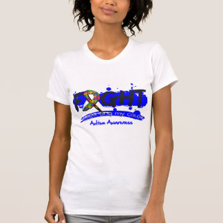 Autism FIGHT Supporting My Cause Tshirts