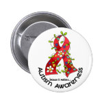 AUTISM Flower Ribbon 1 Pins