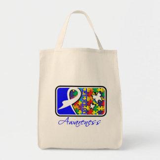 Autism Hope Awareness Tile Bag