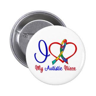 Autism I Love My Autistic Niece Pins