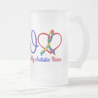 Autism I Love My Autistic Niece Mugs