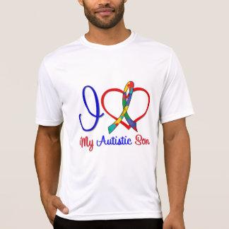 Autism I Love My Autistic Son Tshirts
