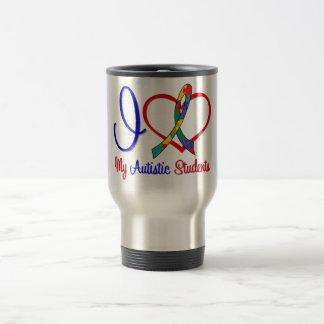 Autism I Love My Autistic Students Coffee Mug