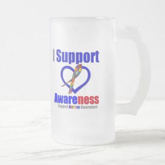 Autism I Support Awareness Coffee Mugs