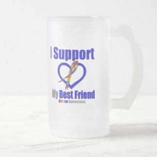 Autism I Support My Best Friend Mug