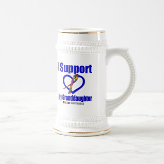 Autism I Support My Granddaughter Coffee Mugs