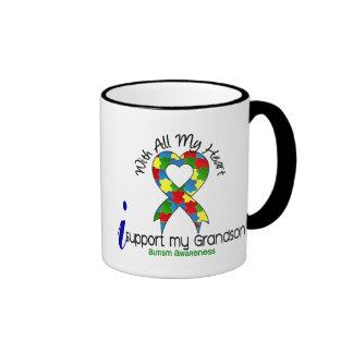 Autism I Support My Grandson Mug