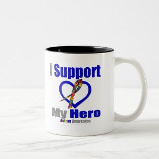 Autism I Support My Hero Mug