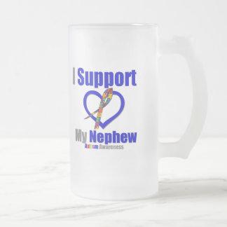 Autism I Support My Nephew Mug