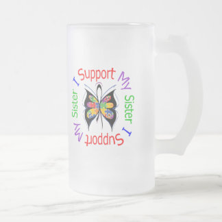 Autism I Support My Sister Mugs