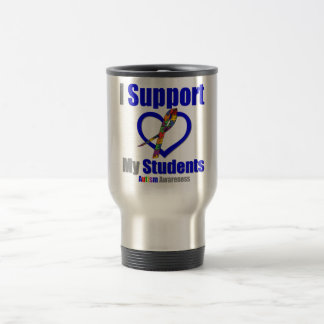 Autism I Support My Students Mug