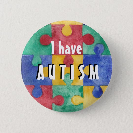 Autism ID button