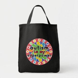 Autism is My Super Power Canvas Bag