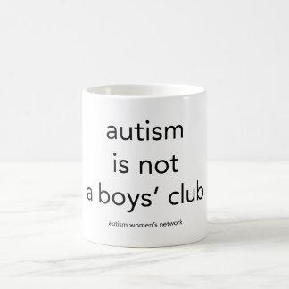 Autism is not a boys club: mug