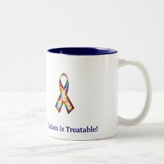 Autism Is Treatable! Two-Tone Mug
