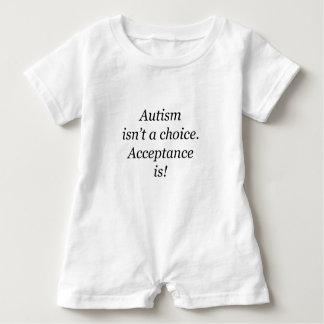 Autism isn't a choice... baby bodysuit