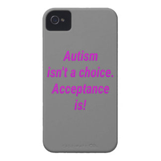 Autism isn't a choice... Case-Mate iPhone 4 case
