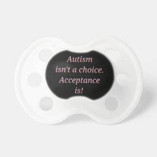 Autism isn't a choice... dummy