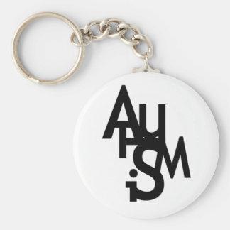 Autism (Jumbled Letters) Key Ring