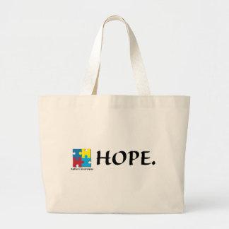 Autism Jumbo Tote Bag