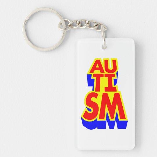 Autism Key Ring