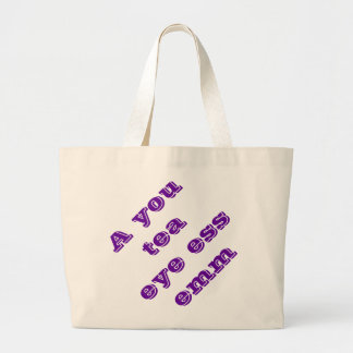 Autism Large Tote Bag