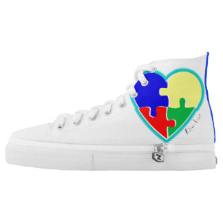 Autism Love High Top Sneakers