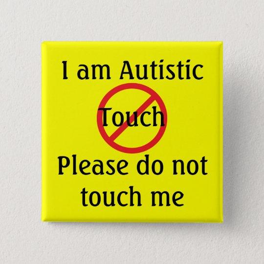 Autism Med Alert No Touch 15 Cm Square