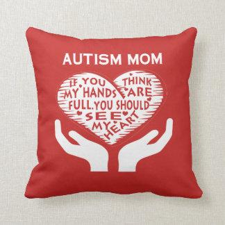 AUTISM MOM CUSHION