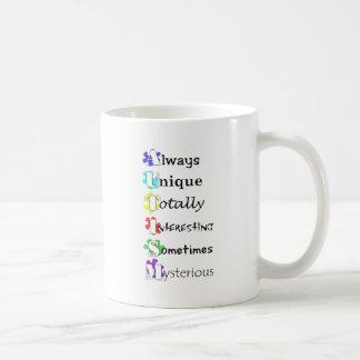 AUTISM COFFEE MUGS