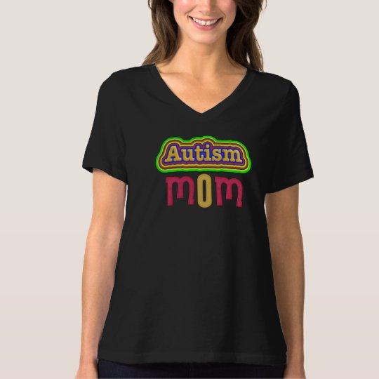 Autism Mum Jersey V-Neck T-Shirt