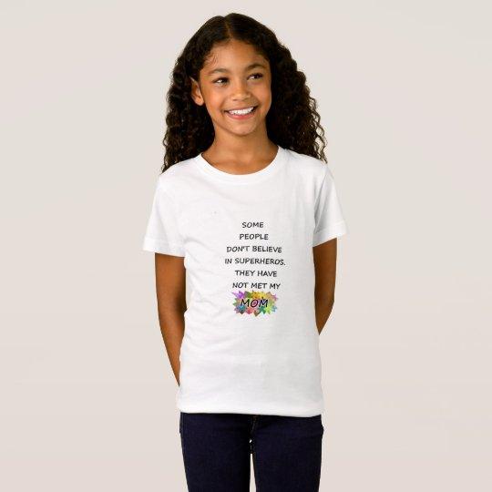 Autism mum Super hero T-shirt