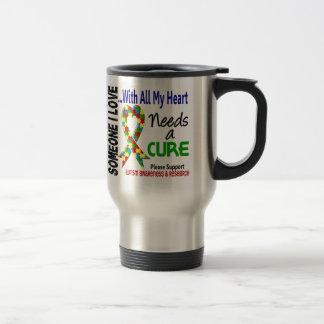 Autism Needs A Cure 3 Travel Mug