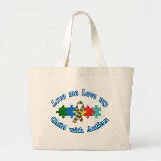 Autism Parent Jumbo Tote Bag