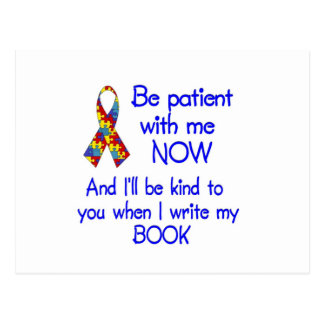 Autism Patience Postcard