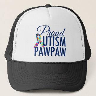 Autism PawPaw Trucker Hat
