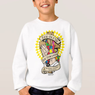 Autism Praying Hands Sweatshirt