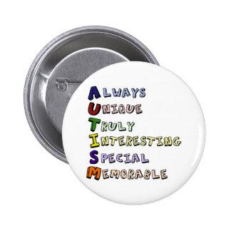 Autism Pride 6 Cm Round Badge