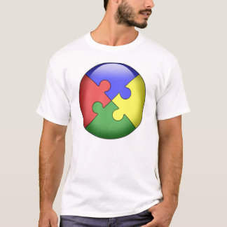 Autism Puzzle Ball T-Shirt
