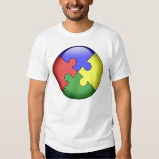 Autism Puzzle Ball Tshirts