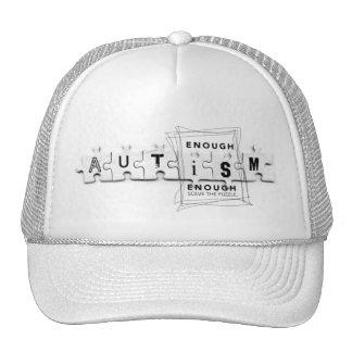 Autism Puzzle Cap